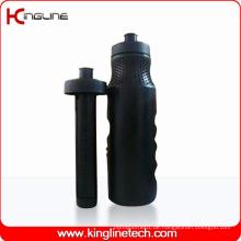 Plastik Sport Wasserflasche, Kunststoff Sport Wasserflasche, 750ml Kunststoff Trinkflasche (KL-6741)