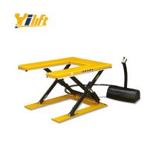 low profile U shape lift platform no maintenance