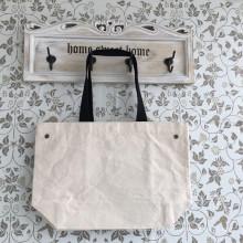 100% bolso de compras de algodón orgánico