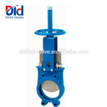 Pneumatic Dn400 With Price Ductile Iron Stem Sluice Knife Gate Valve