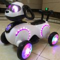 Electric Astrodog Baby Kids Motocicleta Espacial para Niños