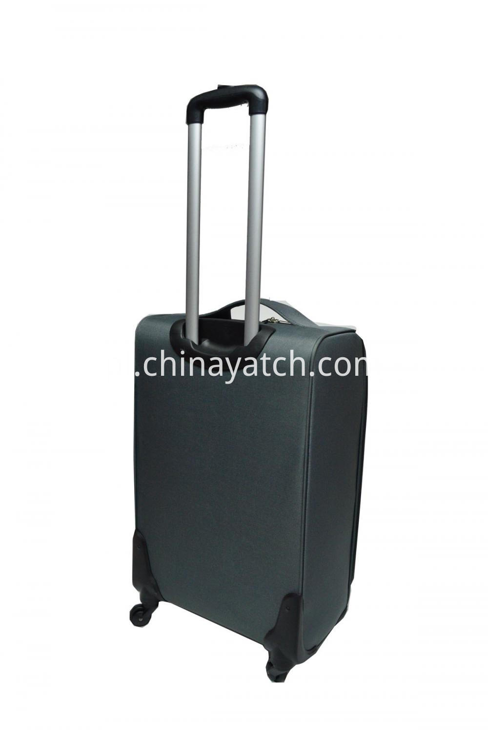 600D Imiteted Aluminum Trolley Case