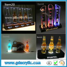 Customed LED Acrylic Wine Rack by Professional Manufacturer in Guangzhou