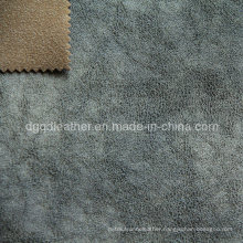 High Quality Breathable PU Furniture Leather (QDL-FB0058)