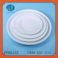 Vajilla Tipo de Vajilla y Placa, plato para cena de porcelana, vajilla, hotel utilizado platos de cena