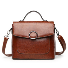Hot sale PU leather designer hand bag lady