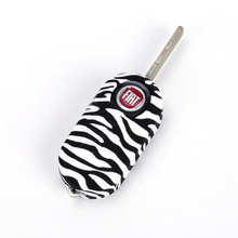 Customized design key fob cover for fiat 500