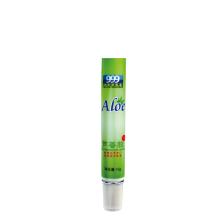 Tubo de aloe 15ml de plástico macio medicinalmente para embalagem