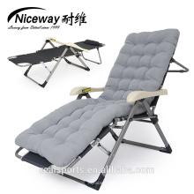 Chaise longue portátil, espreguiçadeira / praia dobrável espreguiçadeira ao ar livre