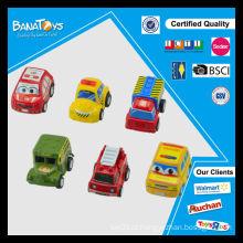Moda brinquedos pequenos para crianças puxar para trás carros de corrida