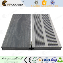 Barefoot wpc outdoor deck/plastic floor covering/flooring with CE FACTORY TOUR