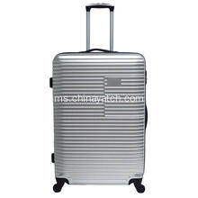 Glossy PET Sheet Hard Upright Spinner Luggage