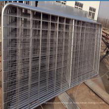 Alta qualidade de ferro galvanizado portão de metal projetos / cerca da fazenda