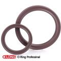 Kundenspezifischer FKM 75 Brown Gummi X / Quad Ring