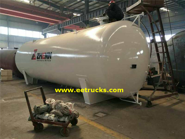 15000 Gallon Bulk Propane Storage Bullet Tanks