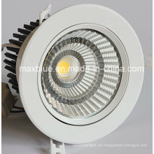 Tamaño del agujero de corte 140mm 30W 35W CREE / Epistar COB LED Downlights