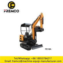 FE18 Mini Digger for Narrow Space Working