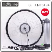 Usine approvisionnement 2016NEW Bouteille D'eau Batterie kit 36 V 11AH 250 W électrique vélo kit avec LCD affichage