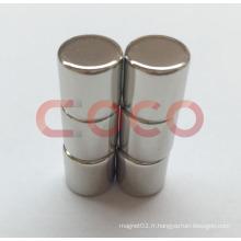 Aimant permanent de néodyme Aimant de cylindre