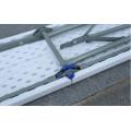 6FT Пластиковая складная скамья, скамейка для сада, балконная скамья Простая переносная скамья