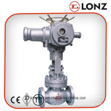 API Cast Carbon Steel Flanged Electric Globe Valve