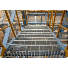 Verzinktem Stahl Gitter / heiß eingetaucht verzinktem Stahl Gitter