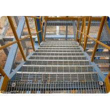 Grating de aço galvanizado / Grating de aço galvanizado mergulhado quente