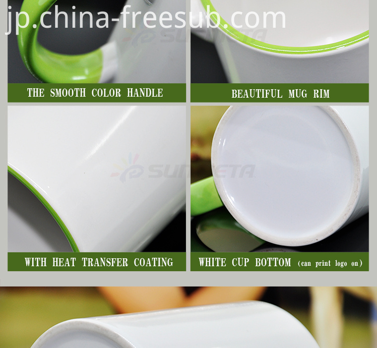 FREESUB Sublimation Heat Press Insulated Coffee Mugs