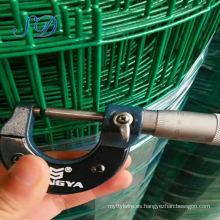 Malla de alambre soldado con autógena galvanizado revestido del PVC de 1 calibre 16