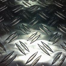 Checkered Aluminiumplatte mit 2 Stangen