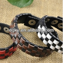 Punk Design Men Fashion Leather Bracelets