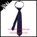 Boys Ready Knot with YKK Zipper Gryffindor Harry Potter Custom Print Silk Tie
