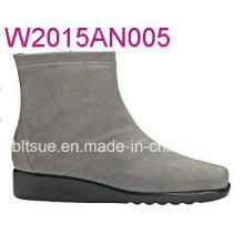 Suded zapatos de tacón hecho en Jinjiang