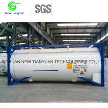 44.75m3 Capacidad Contenedor de tanque de GNL para transporte o almacenamiento de GNL