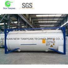 44.75m3 Capacité Conteneur de réservoir de GNL pour le transport ou le stockage de GNL