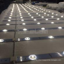 Highest luminous efficiency led lattice system with lens 160degee advertising Backlight lighting