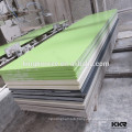 quality options for countertop and vanity top veined poly resin stone