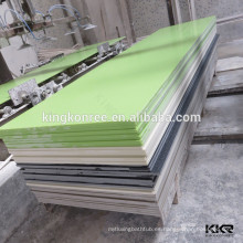 opciones de calidad para encimera y tocador de piedra de resina polivinílica veteada