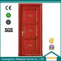 Puerta americana de alta calidad del panel de madera sólida para el uso interior