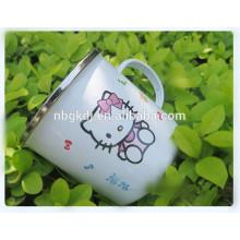 customized printed enamel mugs factory wholesale