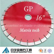 "Gp 16""*20mm Diamond Array Tech Blade for Granite"