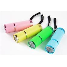 Cadeau promotionnel pour 9 lampe de poche LED Ea06016