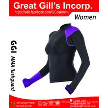 women rash guard / women swim wear / custom made rashguard / rashguard