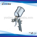 Plating polyurethane spray gun