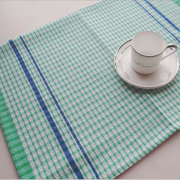 wholesale custom linen printed tea towel