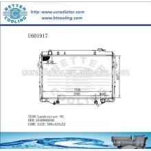 Radiateur 93- Pour TOYOTA LANDCRUISER 1640066040 Fabricant et vente directe
