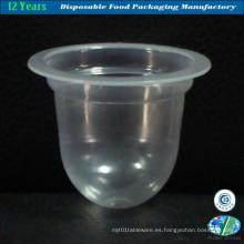Copa de jalea de plástico de venta caliente