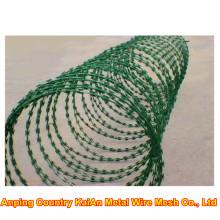 Razor Barbed Wire / Razor Arame farpado / galvanizado Razor Wire / PVC revestido fio de barbear / arame farpado ---- 30 anos de fábrica