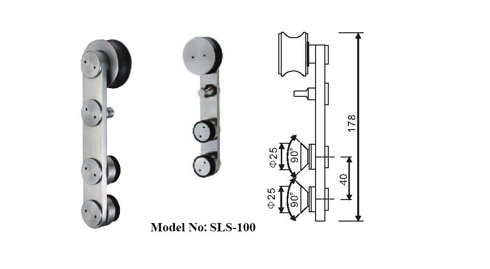 Stainless Steel Serenity Sliding Shower Door Kits