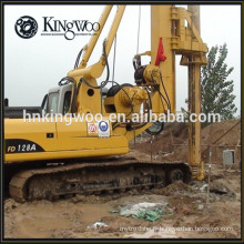 La construction emploient complètement la plate-forme de forage rotatoire hydraulique pour empiler le trou / conducteur de pile